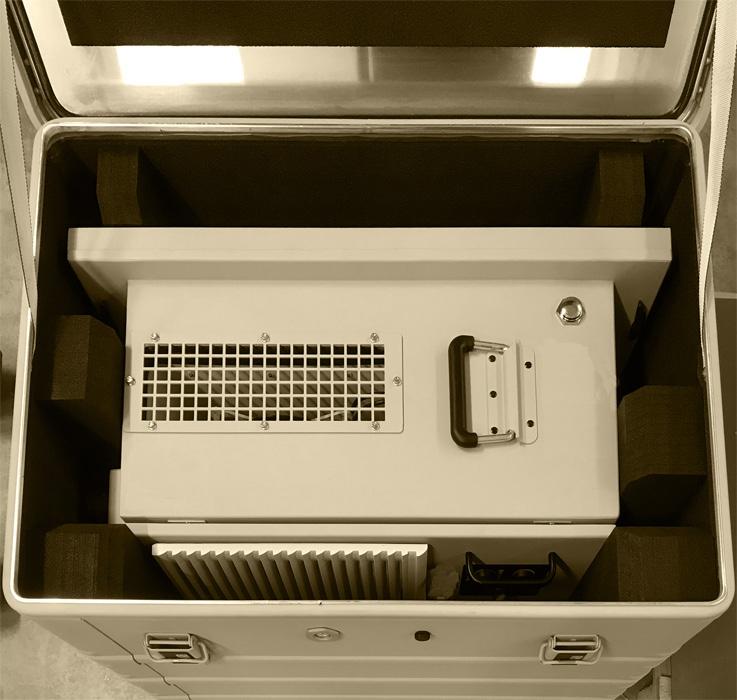 Transport Klimaanlage Sepia